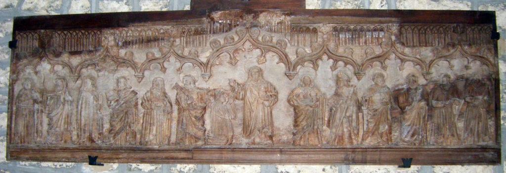 Rétable de l'église (XVIe siècle) - recadré