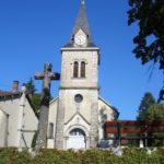 Église St Clair Villechantria en 2008 (Tilleul)